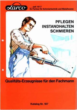 Schmiergeräte-Katalog aus den 80er Jahren