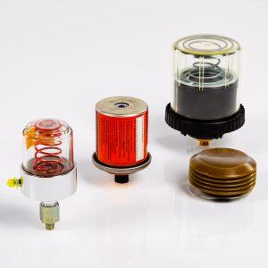 Automatische Schmierstoffgeber für Fett oder Öl